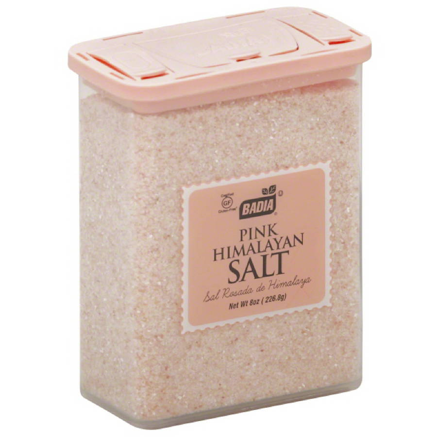 Badia Pink Himalayan Salt, 8 oz, (Pack of 12)