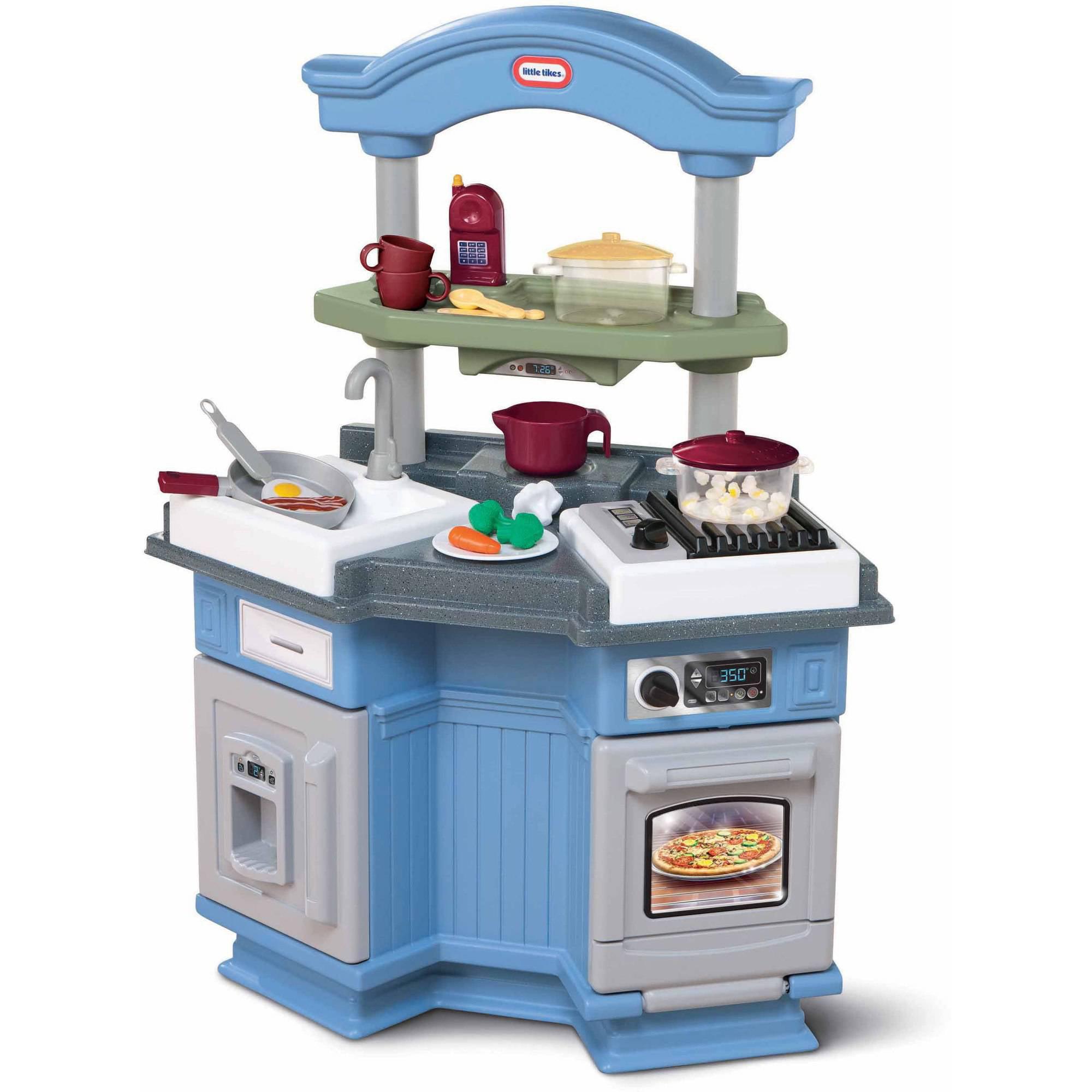 little tikes sizzle 'n pop kitchen - walmart