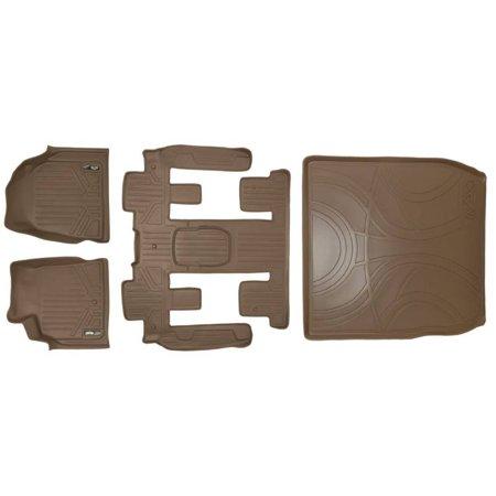 Maxliner 2008 2016 Chevrolet Traverse Buick Enclave Custom Fit Floor Mat Cargo Liner Tan A1043 B1044 D1043