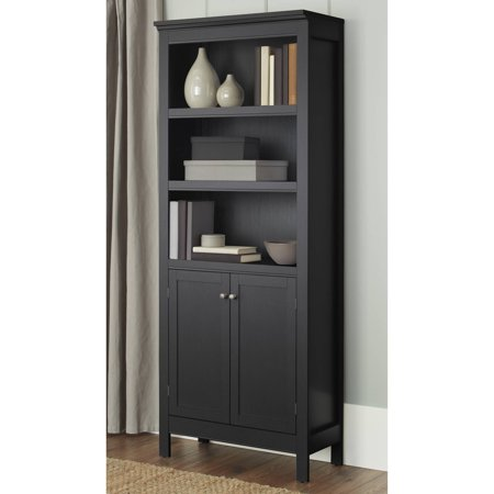 10 Spring Street Burlington 5-Shelf Bookcase with Doors, Multiple Colors - 10 Spring Street Burlington 5-Shelf Bookcase With Doors, Multiple