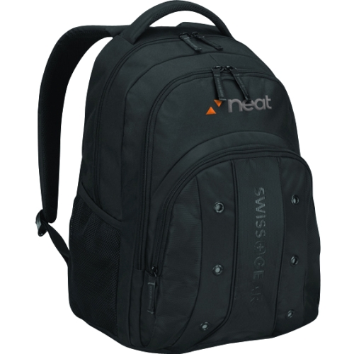"Swissgear 16"" Upload Backpack, Black"