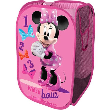 Disney Square Storage - Disney Minnie Mouse Collapsible Storage Square Pop Hamper