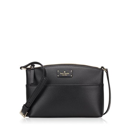 NEW KATE SPADE (WKRU4194) GROVE STREET MILLIE BLACK HANDBAG CROSSBODY BAG - Black Kate Spade