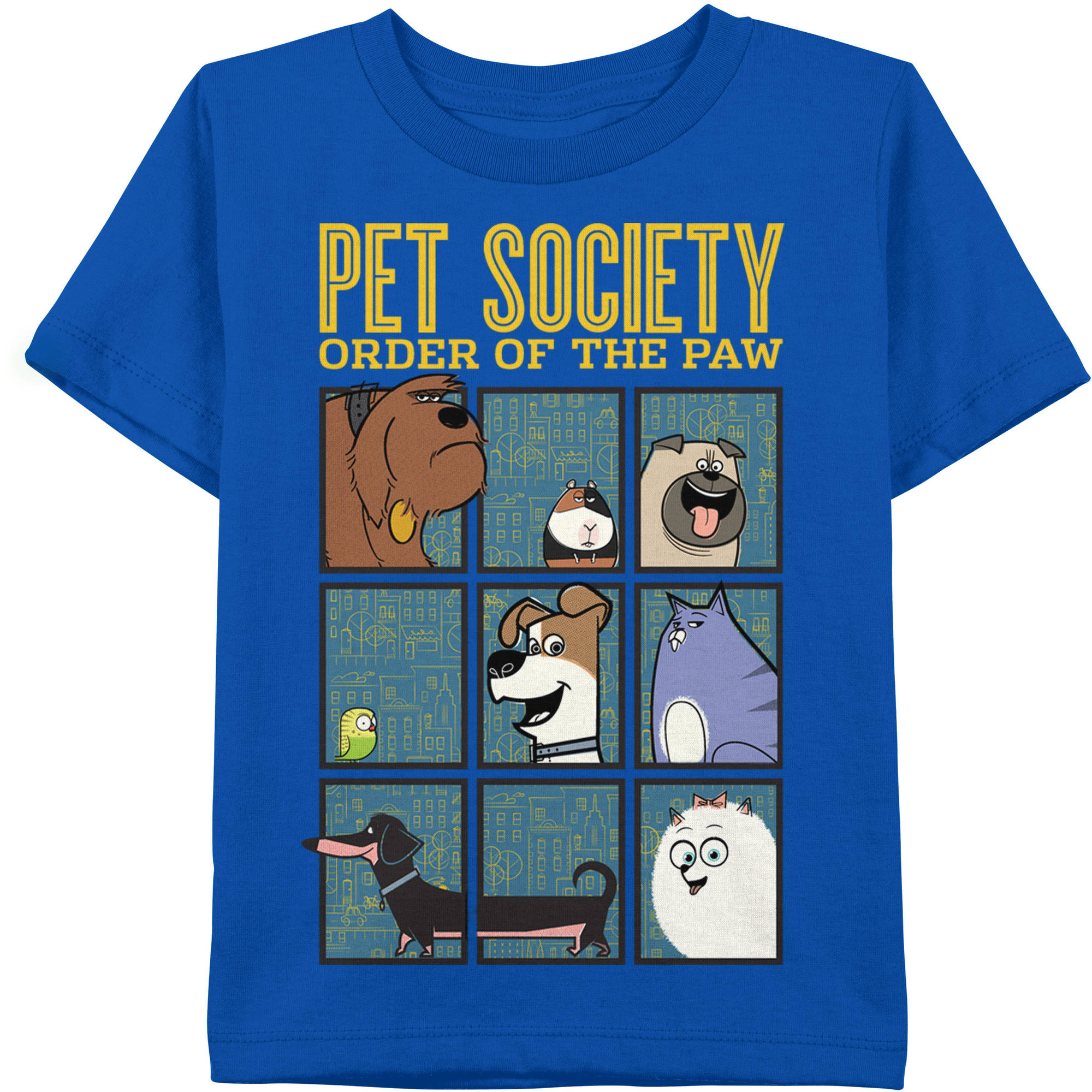 Secret Life of Pets Boys' Pet Society Graphic Tee