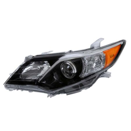 Spec-D Tuning For 2012-2014 Toyota Camry SE Style Shiny Black Driver Side Projector Headlight