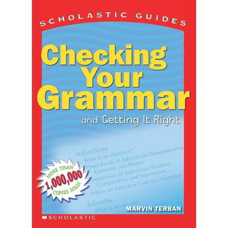 Checking Your Grammar