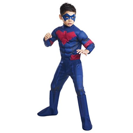 Nightwing Batman Costume (Batman Unlimited Nightwing Deluxe Costume, Child\'s)
