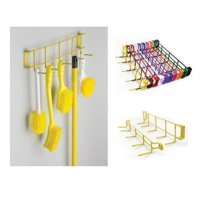 RackEm Racks 4038 17 in. 5-Hook Utility Rack - Orange