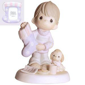 Precious Moments Christmas 4003172 There's No Place Like Home For Christmas Figurine (Precious Moments Christmas Figurines)