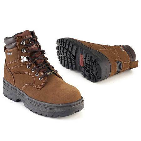 Brahma - Men's Hawk Steel-Toe Work Boot - Walmart.com