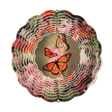 True Image Butterfly Wind Spinner - Butterfly Trade