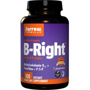 Best B Complexes - Jarrow Formulas B-right Complex, Supports Engery, Brain Review