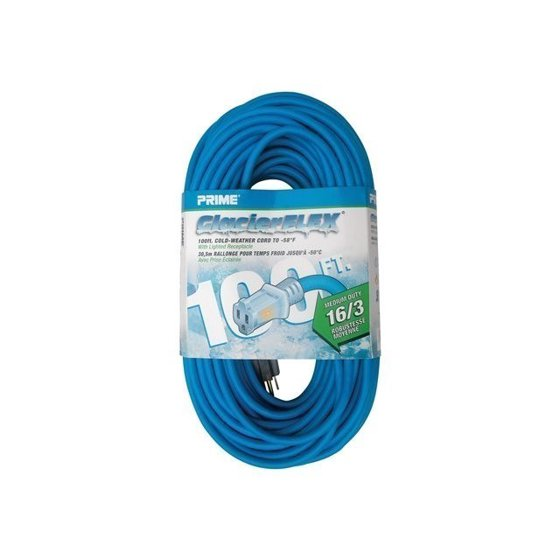 Prime Wire Glacier Flex Cold Weather Extension Cord With Indicator ...