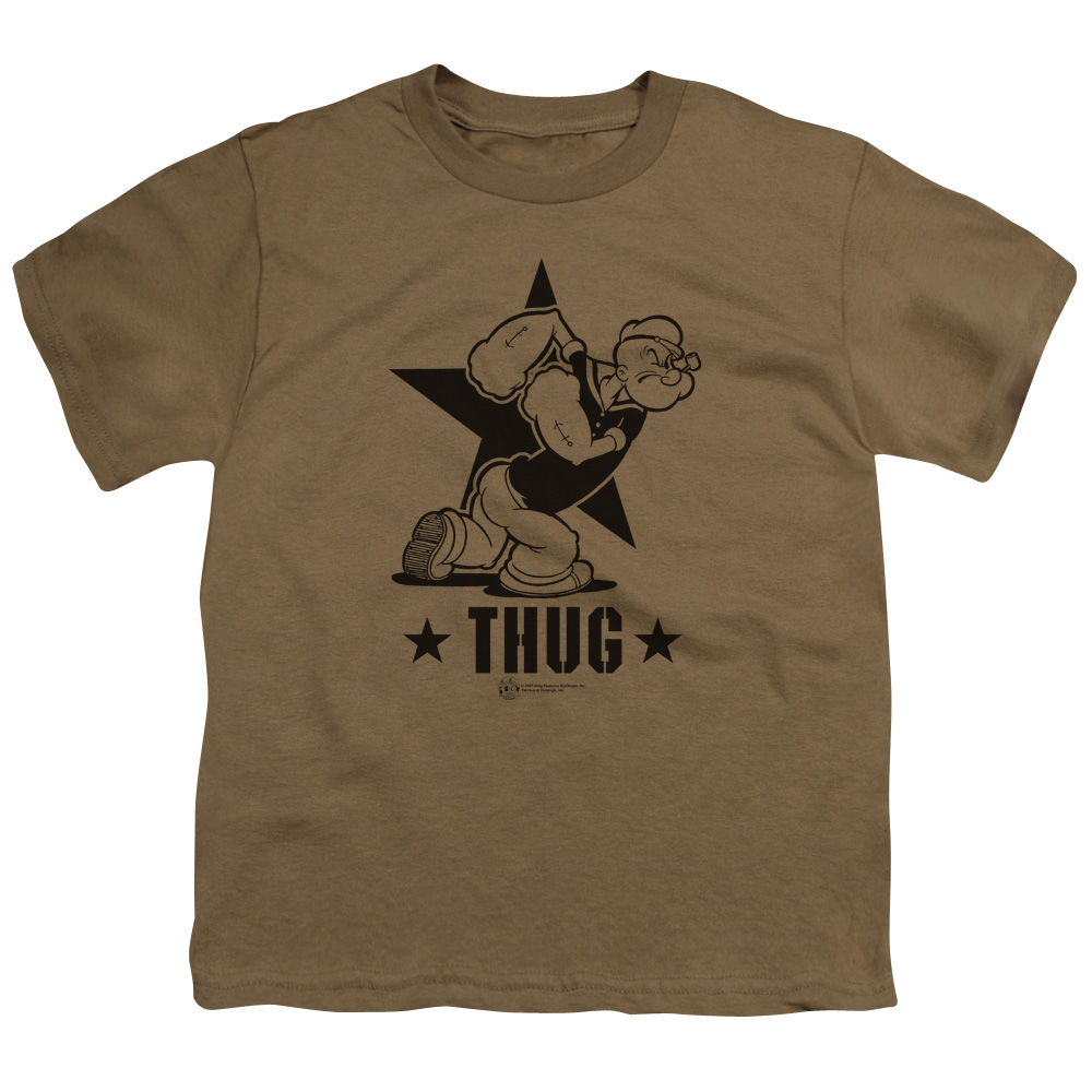 Popeye/Thug   S/S Youth 18/1   Safari Green     Pye109