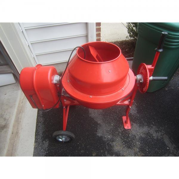 1/4 HP Electric Cement Mixer 1.25 Cubic Ft; 35 RPM