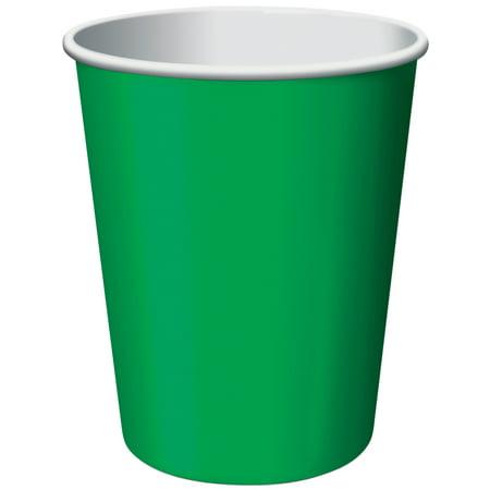 Paper Hot & Cold Cups 9oz 24/Pkg-Emerald Green - image 2 de 2