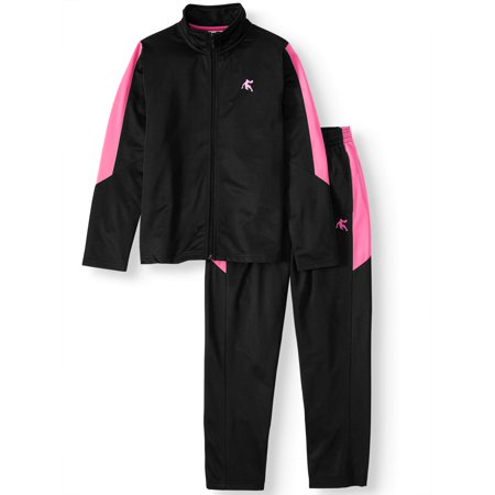 AND1 4-18 Youth Basketball Tracksuit, 2-Piece Athletic Outfit Set Little Kid Azalea