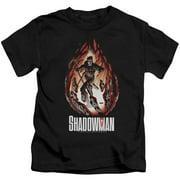 Shadowman Burst Little Boys Shirt