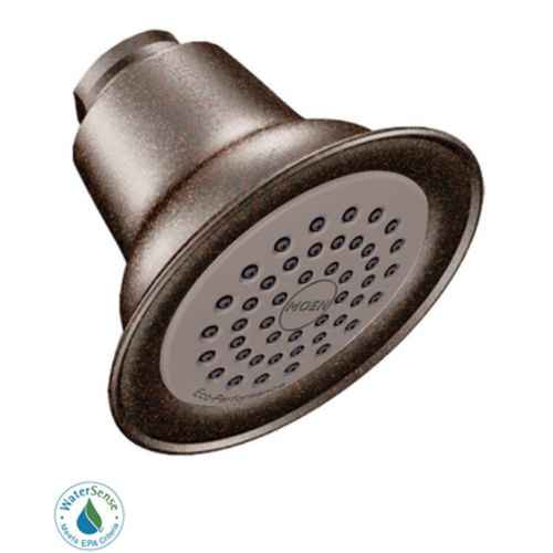 Moen 6313ORB Easy Clean XLT 1.5 GPM Single Function Shower Head, Available in Various Colors