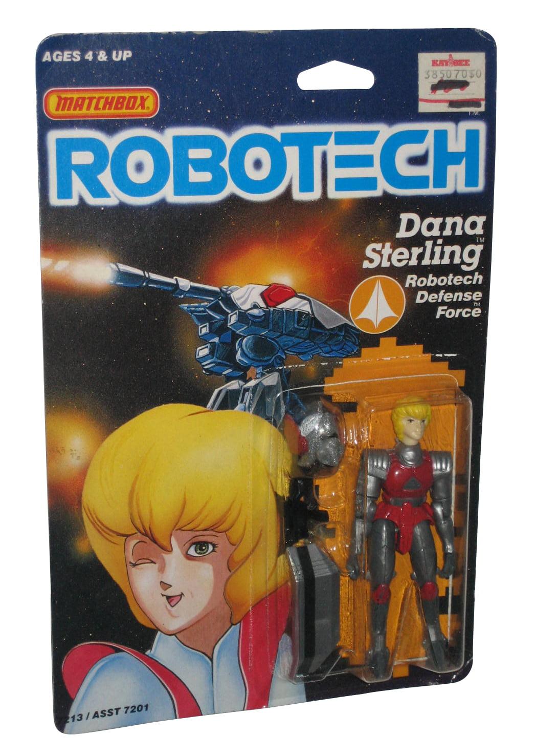 Robotech Dana Sterling Defense Force (1985) Matchbox 3.75 Inch Figure by Matchbox