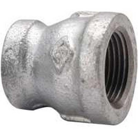 World Wide Sourcing 24-3-4X3-8G .75 x .37 Galvanized Reducing Coupling - image 1 of 1