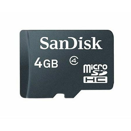 SanDisk 4GB MicroSDHC Mobile Memory Card