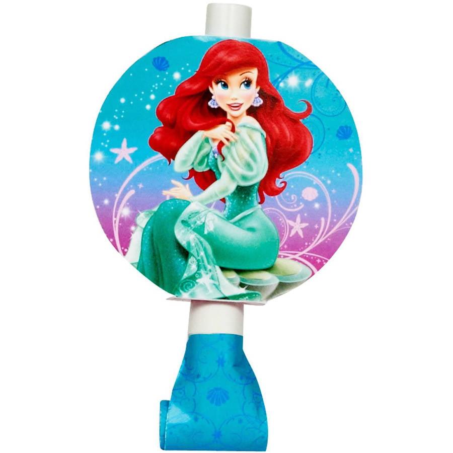 Little Mermaid Sparkle Blowout, 8pk