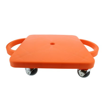 Get Out!™ Plastic Scooter Board with Handles – Gym Scooter Manual Scooter Board - Gamecraft Scooter Board