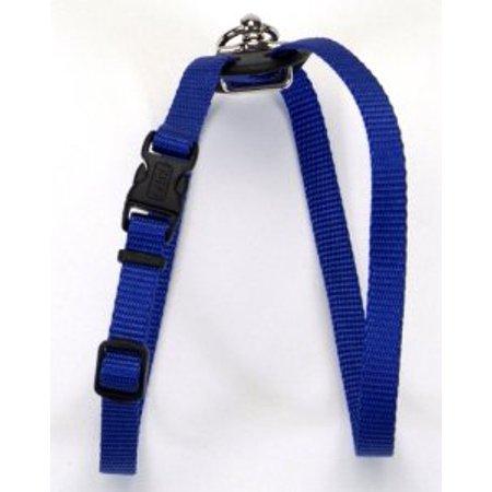 Coastal Pet Size Right Nylon Adjustable Harness - Blue Small (Girth Size - Coastal Nylon Harness