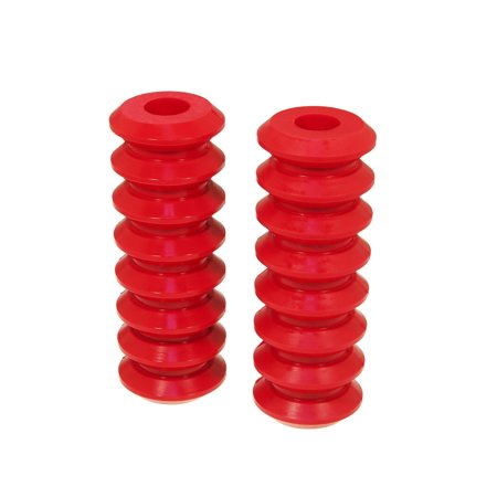Prothane Universal Coil Spring Inserts - 10.5in High - Red
