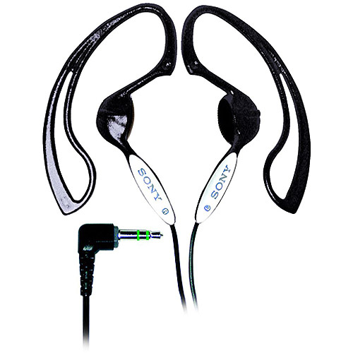 Sony MDR-J10 h.ear Headphones with Non-Slip Design (Black) [Electronics]