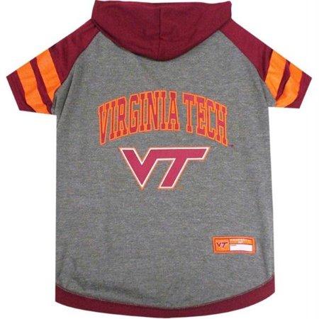 Virginia Tech Hokies Pet Hoodie T-Shirt - Small - image 1 of 1