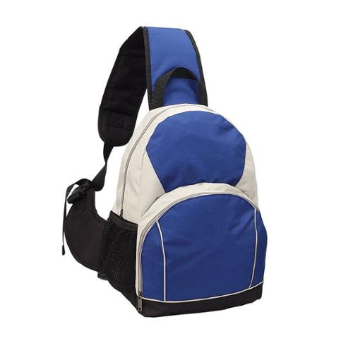 Goodhope Eco Green Recycled PET Sling Backpack Blue