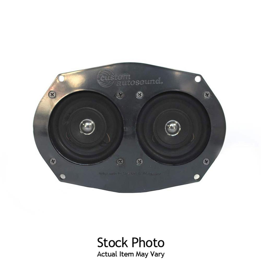 "Custom Autosound KCIM-64A-PIO Kick Panels/&6.5/"" Speakers 64 Impala with A//C"