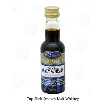 MOONSHINE ALCOHOL FLAVORING Smokey Malt Whiskey STILL SPIRITS Top Shelf 50ml, Easy to make - Just add 1/3 bottle to 750ml alcohol By Hobby Homebrew Ship from US