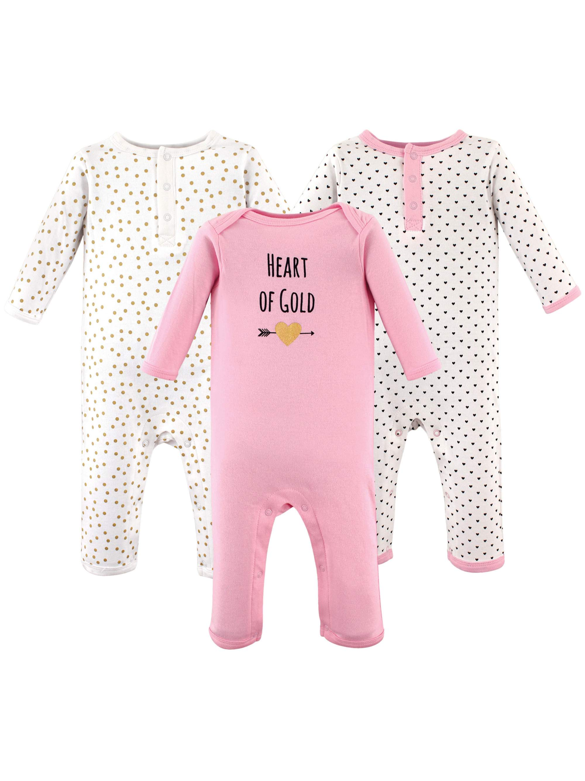 Girl Coveralls, 3-Pack