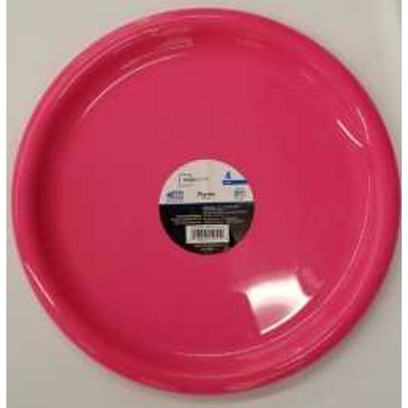 Mainstays Pink Plate, 4 Pack