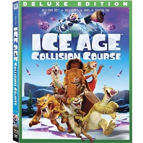 Ice Age: Collision Course (Deluxe Edition) (Blu-ray 3D + Blu-ray + DVD + Digital HD) (Widescreen)