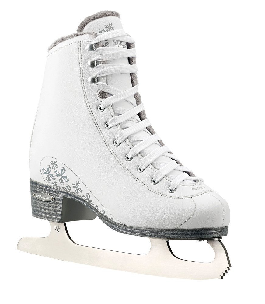 Bladerunner Ladies Aurora Ice Figure Skate, White, Size 5 by Ice Skates