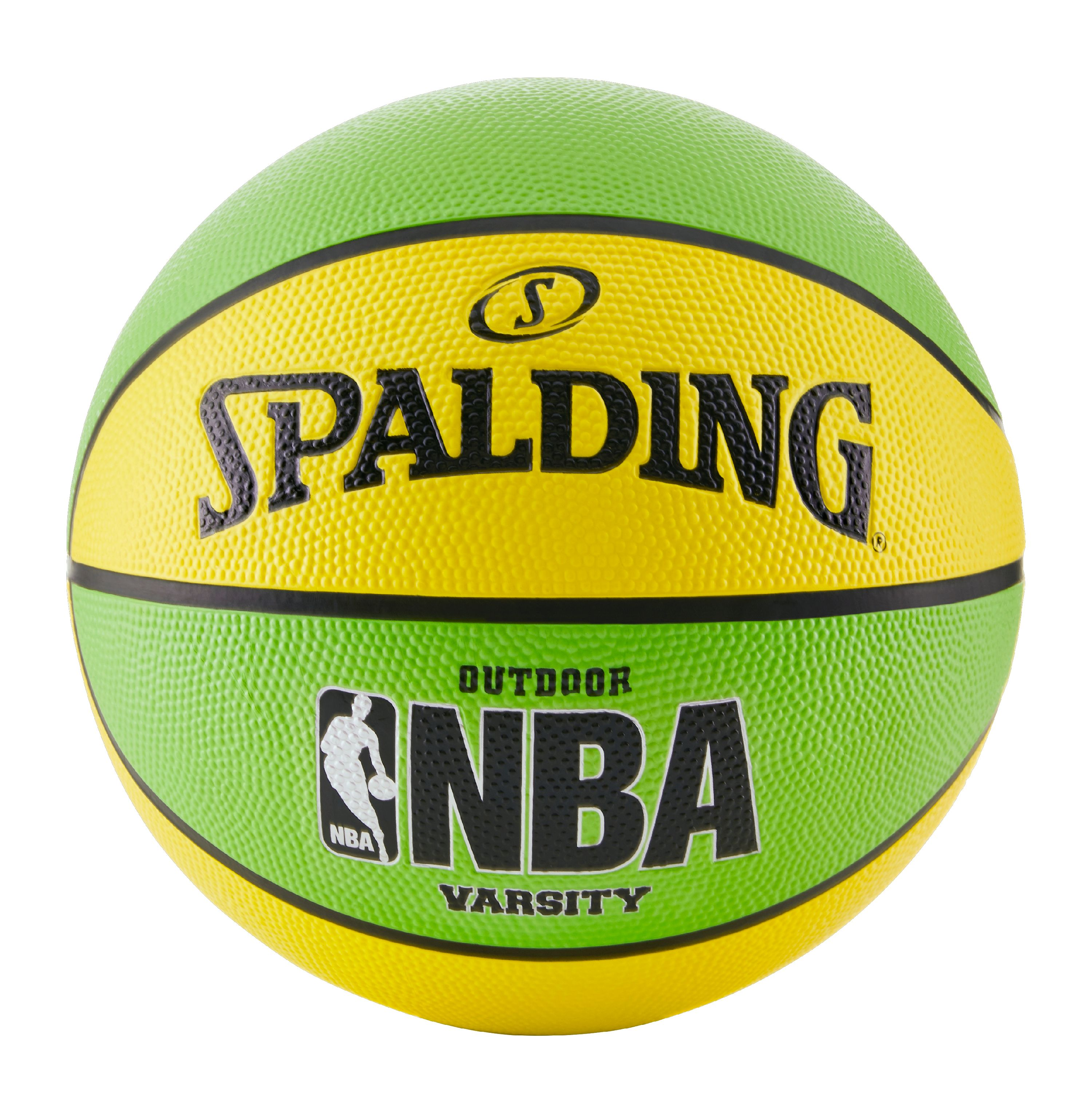 "Spalding NBA Varsity 29.5"" Basketball - Neon Green/Yellow"