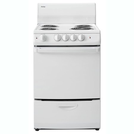 Danby 3 Cubic Feet Apartment Compact Freestanding Electric Range Oven, White