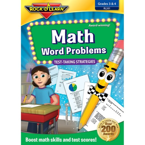 Rock N Learn Math Word Problems Test Taking CD