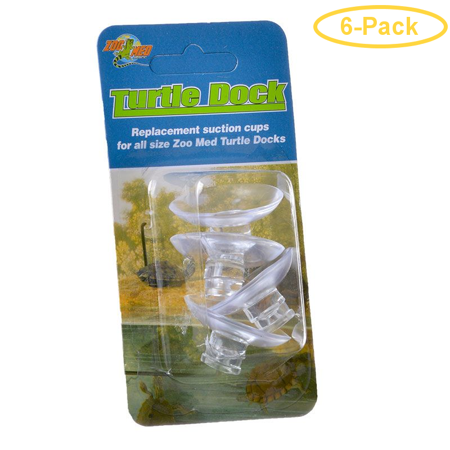 Zoo Med Turtle Dock Suction Cups 4 Pack - Pack of 6