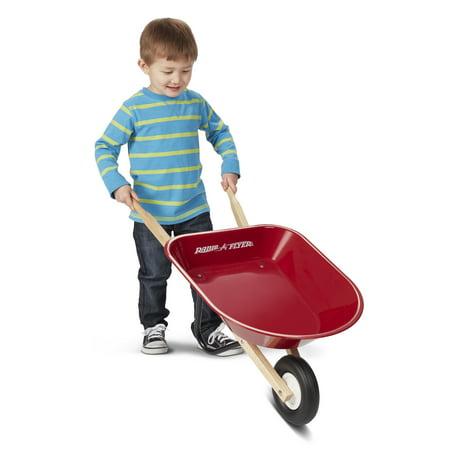 Radio Flyer Kid S Wheelbarrow Steel Body Red