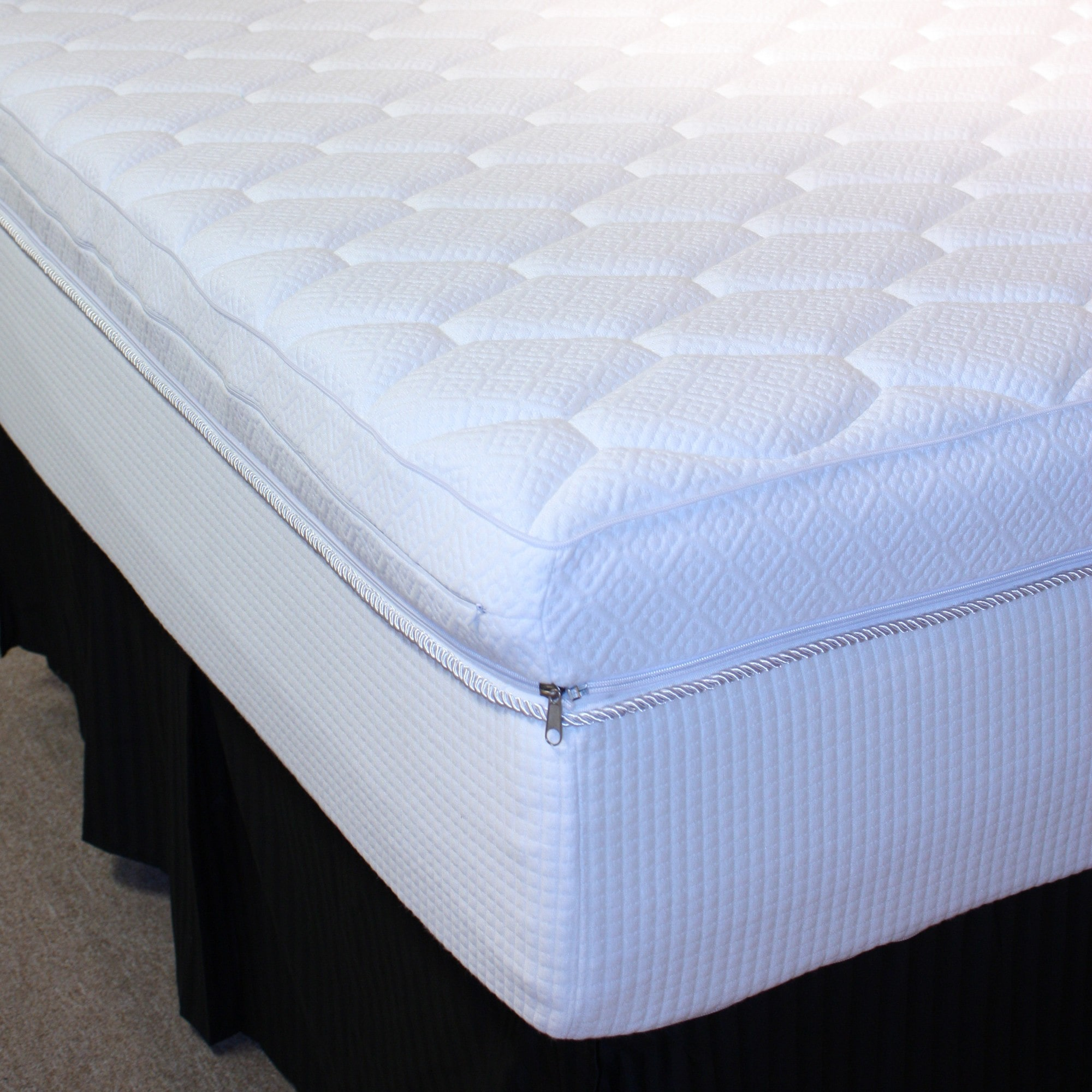 Rio Home Fashions Pure Rest  Reversible Top 12-inch Full-size Memory Foam Mattress