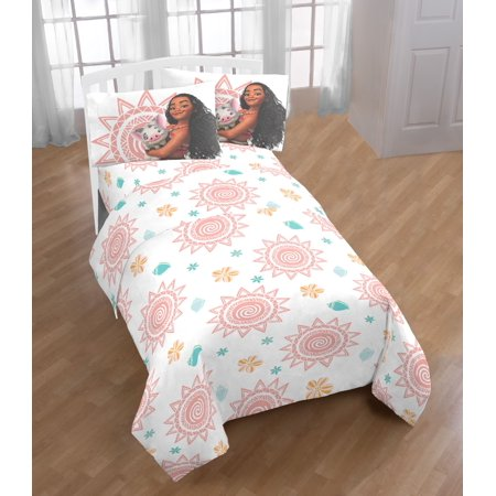 "Disney Moana ""Spring"" Kids Sheet Set"