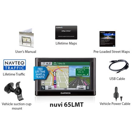 Garmin Nuvi LMT Inch GPS With Lifetime Maps And Traffic - Garmin us canada maps download