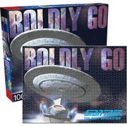 Boldly Go Star Trek Next Generation 1000 pc Jigsaw Puzzle