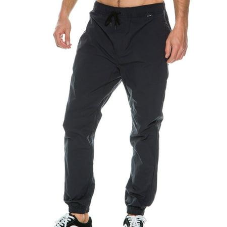 bebe704224b Hurley - Hurley NEW Deep Black Mens Size 2XL Drifter Dri-Fit Stretch Jogger  Pants - Walmart.com
