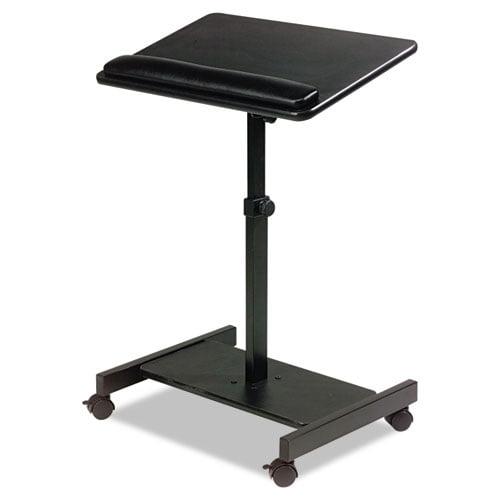 BALT Scamp Speaker Stand, 24w x 18d x 27 to 43h, Black by Balt